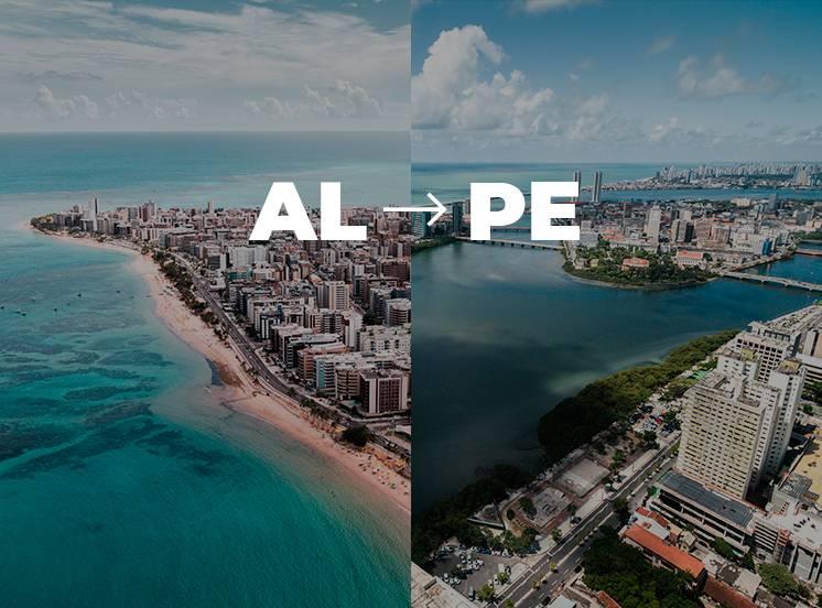 De Maceió para Recife