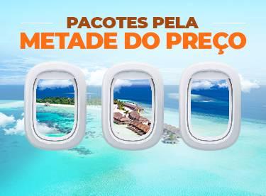 Passagem de avião + hotel