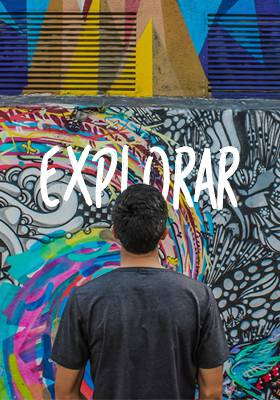 Explore os grafites com uma artista