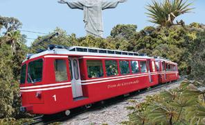 Rio de Janeiro: Cristo Redentor de Trem e City Tour