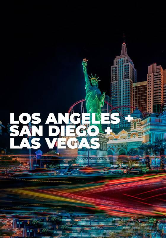 Los Angeles + San Diego + Las Vegas