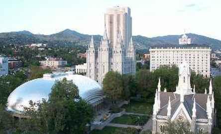 Salt Lake Plaza Hotel Temple Square