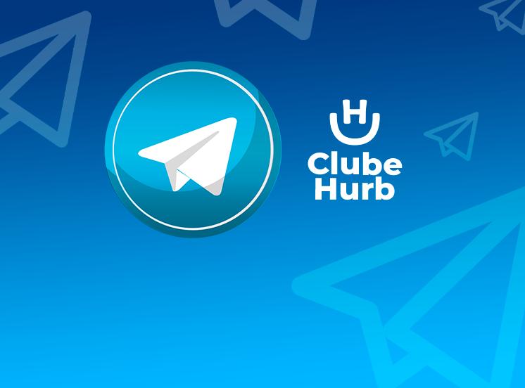 Adicione o Telegram oficial do Clube