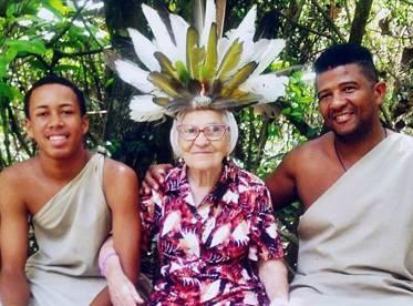Com 91 anos desbravando o mundo