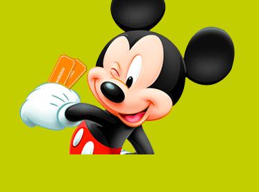 Promoções ingressos Disney