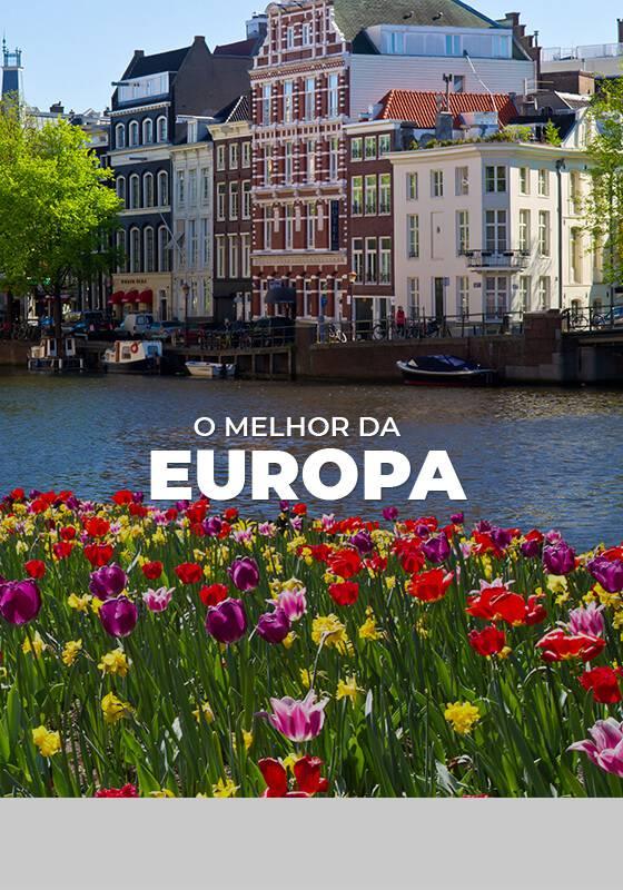 Paris + Londres + Roma + Amsterdam