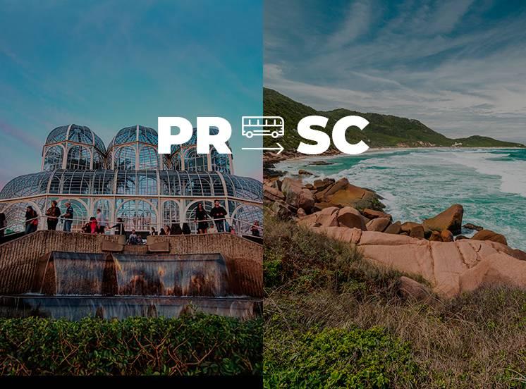 Curitiba para Florianópolis