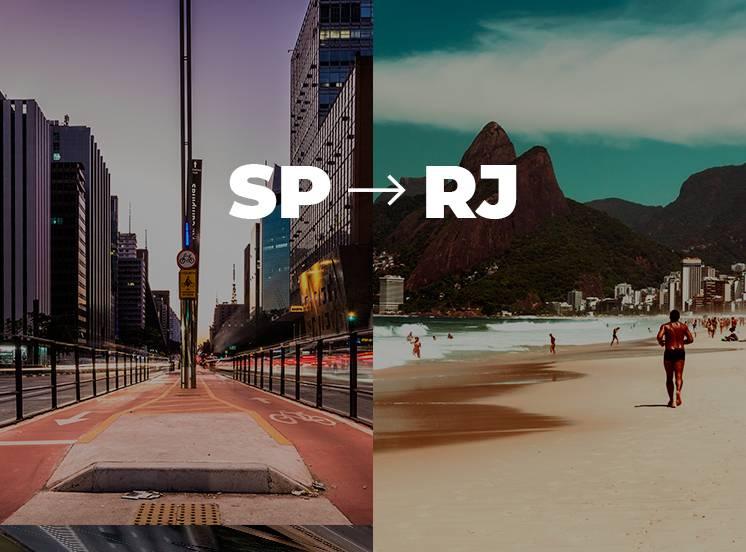 De São Paulo para Rio de Janeiro