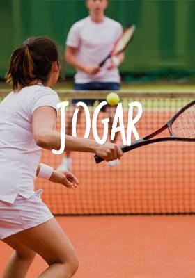 Tênis com uma medalhista