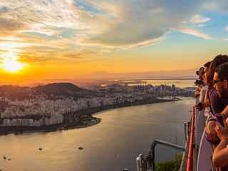 O Melhor do Rio de Janeiro e Pôr do Sol no Pão de Açúcar